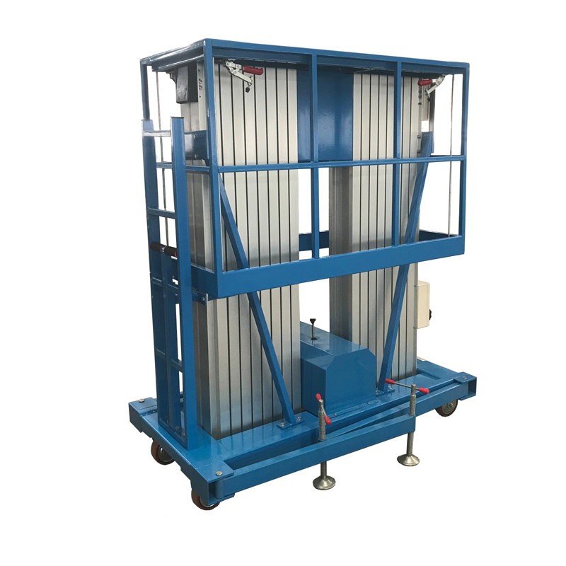 Double Mast Aluminum Alloy Lift YBC0.2-14