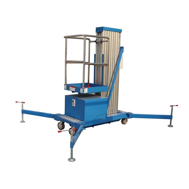 Single Mast Aluminum Lift YBC0.1-6