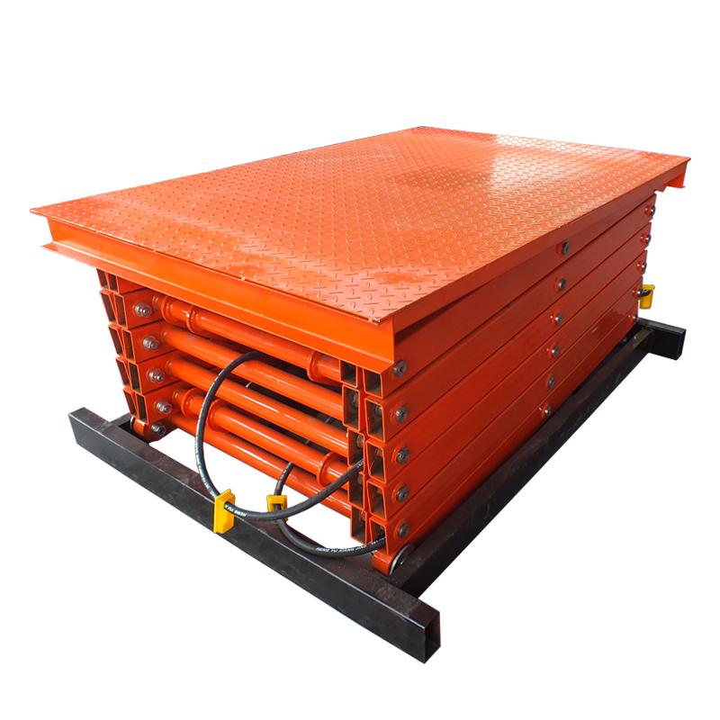 Stationary Scissor Lift SJG0.5-10