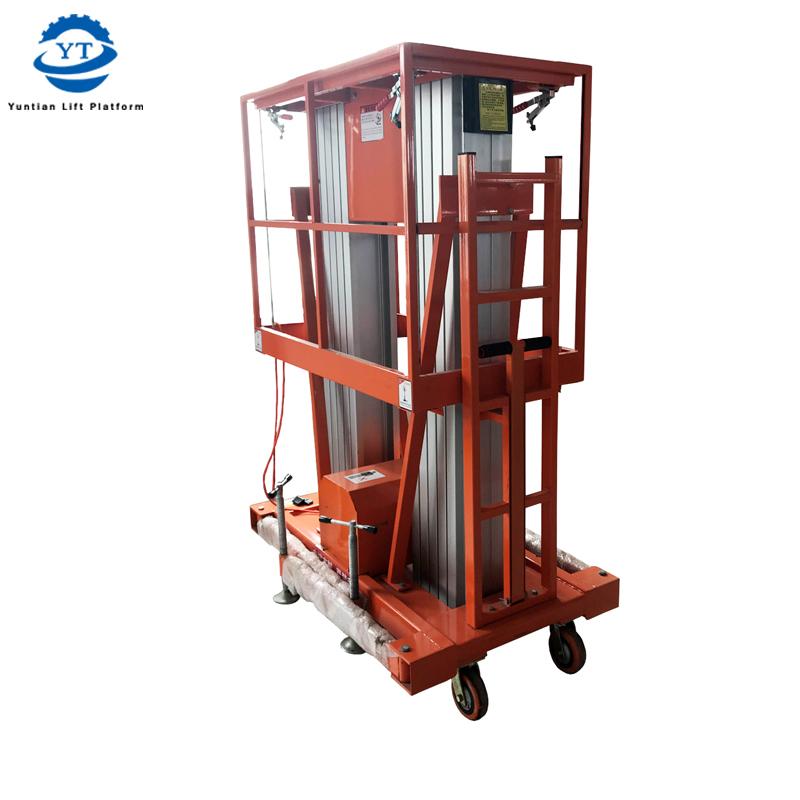 Double Mast Aluminum Lift YBC0.2-10